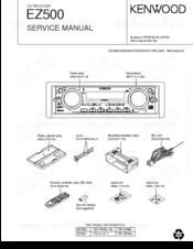 kenwood ez500 radio cd manuals rh manualslib com Kenwood EZ-700 Kenwood EZ500 H3