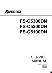kyocera fs c5100dn c5200dn c5300dn service manual