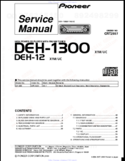 1181356_deh1300_product pioneer deh 12 manuals pioneer deh 12e wiring diagram at edmiracle.co