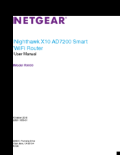 Netgear R9000 Manuals