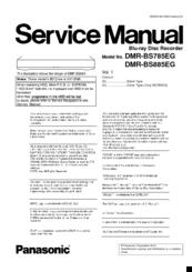 PANASONIC DMR-BS850EG RECORDER DRIVER DOWNLOAD (2019)
