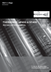 kingspan thermomax hp400 installation manual pdf download rh manualslib com Vinyl Graphics Installation Guide Honeywell Thermostat Installation Manual