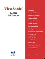ViewSonic PRO8500 User Manual