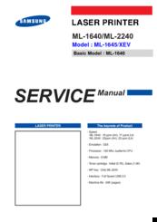Samsung ml-1640 инструкция, характеристики, форум, отзывы.