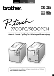 Brother P-touch PT- 97OOPC User Manual