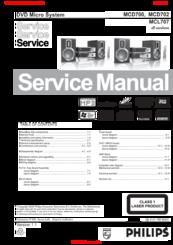 philips mcd 702 manuals rh manualslib com Philips Television Philips TV User Manual