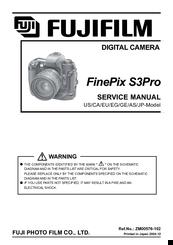 fujifilm finepix s3pro manuals rh manualslib com manual fuji s3 pro español fuji s3 pro repair manual