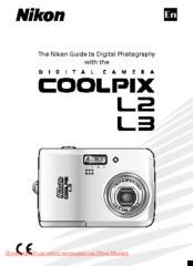 nikon coolpix l3 guide manuals rh manualslib com Owners Manual Nikon Coolpix S6200 Nikon Coolpix P90 Manual