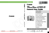 Canon PowerShot A720 IS User Manual
