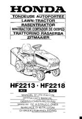 honda hf2213 manuals rh manualslib com Honda GX340 Service Manual Honda HR214 Service Manual