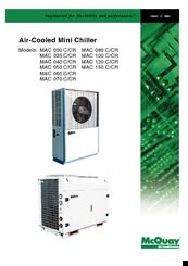 mcquay mac 120 c manuals rh manualslib com McQuay Air-Handler Diagram McQuay Geothermal Heat Pumps
