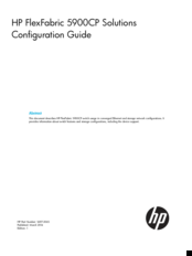 HP FlexFabric 5900CP Series Configuration Manual