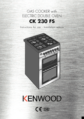 Kenwood CK 230 FS Instructions For Use Manual