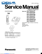 panasonic kx tg9341t cordless phone metallic manuals rh manualslib com Panasonic Kx- Tg444sk Panasonic Kx 553 User Manual