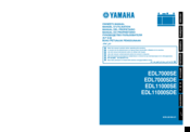 Yamaha EDL7000SE Owner's Manual