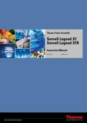 Thermo Scientific Sorvall Legend X1R Manuals