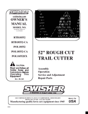 swisher rtb18552 manuals rh manualslib com Log Splitter Parts Log Splitter Parts