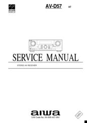 aiwa av d57 manuals rh manualslib com Lincoln D57 aiwa av d58 manual
