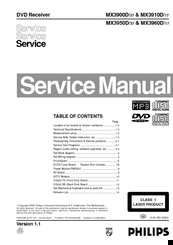 philips mx3900d manuals rh manualslib com Philips TV User Manual Philips Electronics Manuals