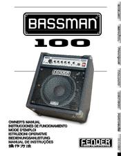 fender bassman bassman 100 manuals rh manualslib com Fender Bassman Craigslist Fender Bassman Combo Amp