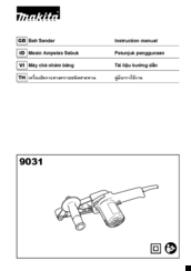 Makita 9031 Instruction Manual