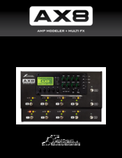 Fractal Audio AX8 Manuals