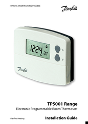 Danfoss tp5001 series manuals danfoss tp5001 series installation manual 92 pages electronic programmable room thermostat asfbconference2016 Gallery