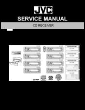 Jvc KD-G120 - Radio / CD Player Manuals