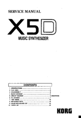 korg x5d manuals rh manualslib com korg x5d manual pdf korg x5 manual pdf