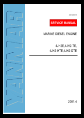 Yanmar 4JH2-TE Manuals