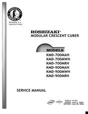 hoshizaki kmd 900mah manuals rh manualslib com Hoshizaki 451 Mah Service Manual Hoshizaki 451 Mah Service Manual