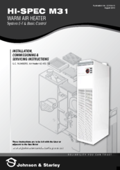 johnson starley hi spec m31 manuals rh manualslib com J50 White J50 Pod