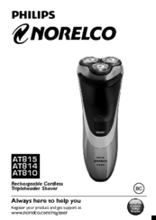 Philips NORELCO AT810 User Manual