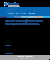 IMAGINE OPSS+OP+D INSTALLATION AND OPERATOR'S MANUAL Pdf