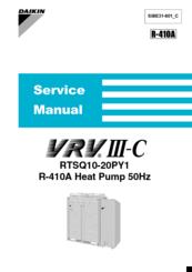 DAIKIN RTSQ20PY1 SERVICE MANUAL Pdf Download