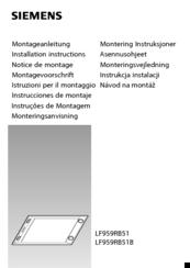 siemens lf959rb51b manuals rh manualslib com siemens instruction manual oven siemens instruction manual oven