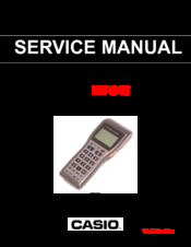 Casio DT-940 Service Manual