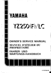 Yamaha 1994 YZ250/LC Manuals