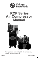 chicago pneumatic rcp series manuals. Black Bedroom Furniture Sets. Home Design Ideas