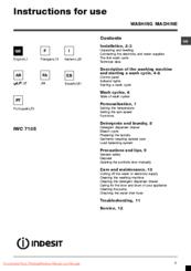 indesit iwc 7105 manuals rh manualslib com