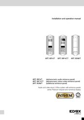 1192821_art_89f4t_product elvox art 89f4 t manuals elvox intercom wiring diagram at fashall.co