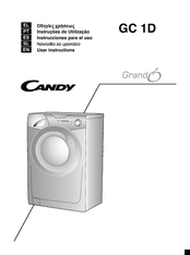 candy gc 1d manuals rh manualslib com LG Washing Machine Manual Edible Candy Washing Machine