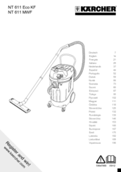 Kärcher NT 611 Eco KF Operator's Manual