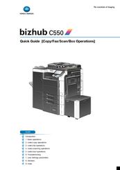 konica minolta bizhub c550 series manuals rh manualslib com konica minolta bizhub c550 manual konica minolta c550 parts manual