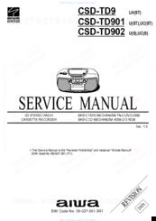 aiwa csd td902 manuals rh manualslib com Aiwa Exos-9 aiwa csd-td49 user manual