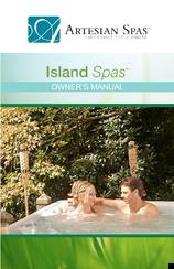 artesian spas island spas series owner's manual