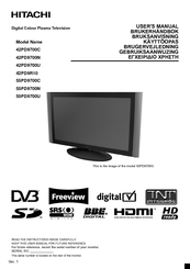hitachi 55hdt52 manual free owners manual u2022 rh wordworksbysea com Hitachi 50 Inch Plasma Hitachi LCD TV Manual