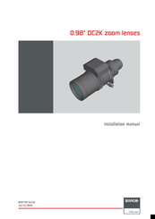 Barco DC2K Installation Manual