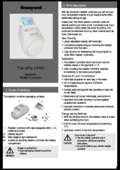 brand new cae91 63863 Honeywell TheraPro HR90 Manuals