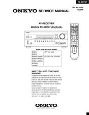 onkyo tx sr707 manuals rh manualslib com onkyo tx-sr707 service manual Onkyo TX SR707 Specs